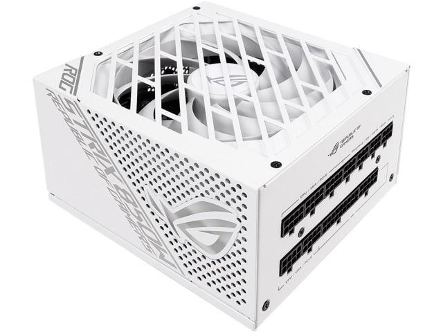 New ASUS ROG STRIX 850G 850W White Edition Power Supply, ROG Heatsinks, Axial-tech Fan Design, Dual Ball Fan Bearings, 0dB Technology, 80 PLUS Gold. (Electronics Computer Components) photo