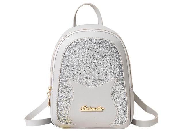 Designer Fashion Women Backpack Mini Soft Leather Multi-function Small Backpacks Female Ladies Shoulder Bag Girl Purse #BL5 (Luggage & Bags) photo