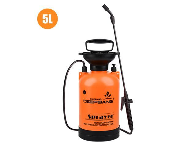 5L Garden Pump Sprayer with Wand Handheld Water Sprayers Plant Water Mister Sprayer Lawn Mister Bottle for Watering Cleaning Fertilizing Pest Control photo