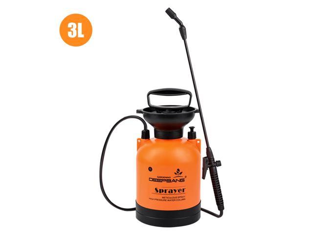 3L Garden Pump Sprayer with Wand Handheld Water Sprayers Plant Water Mister Sprayer Lawn Mister Bottle for Watering Cleaning Fertilizing Pest Control photo