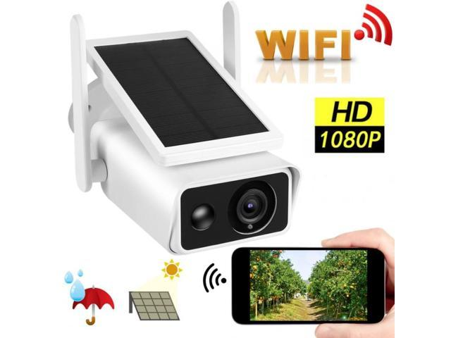 All-new Ring Stick Up Cam Solar HD security camera with two-way talk
