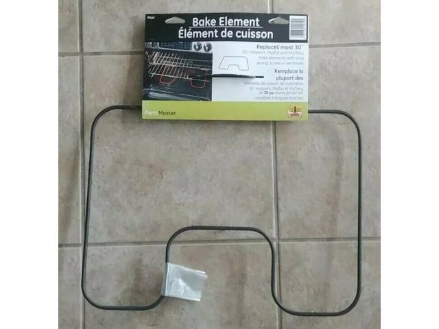 30' Oven Element Replaces most GE, Hotpoint, Moffat McClary, LongProng screwin photo