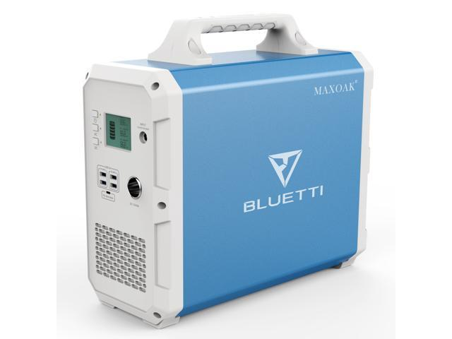 Bluetti Portable Power Station 1500Wh Backup Battery Solar Generator for Outdoors RV Emergency Power Battery photo