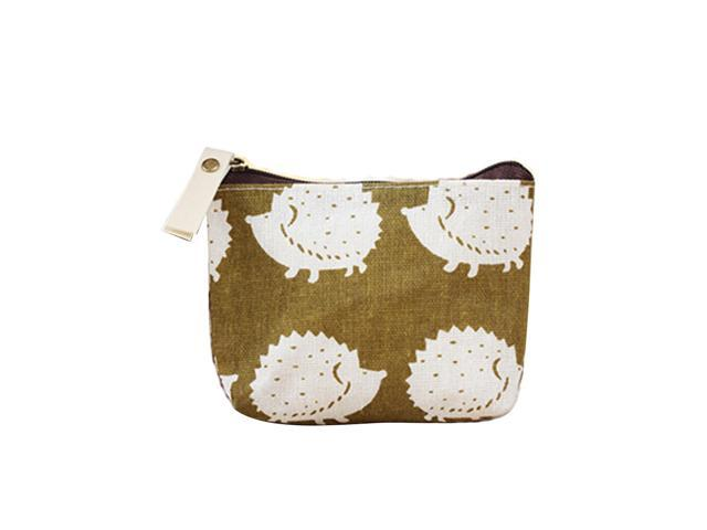 8pcs Classic Cotton and Linen Snacks Coin Purse Mini Wallet Bag Headsets Storage Bags Coin Purse Change Pouch Key Holder Mini Bags for Women and. (Luggage & Bags) photo