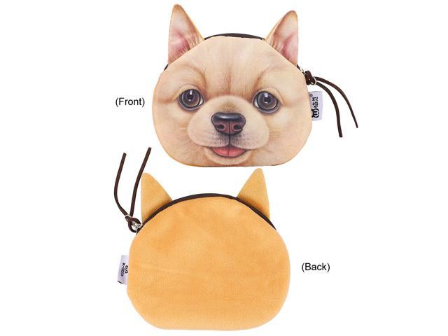 Pet Style Coin Purse Multiple Coin Bag Lovely Wallet Makeup Bag for Women Girls (Office Supplies Easels) photo