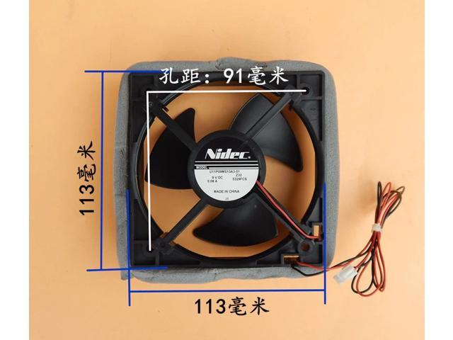 Nidec for Panasonic Haier refrigerator cooling fan U11P09MS13A3-51 9VDC 0.08A photo