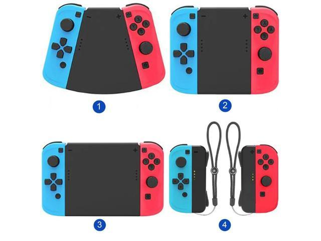 1set 5 in 1 Connector Pack Hand Grip Cover for Nintendo Switch Joy-Con Gamepad High-tech Surface Treatment Technology Strong (Electronics) photo