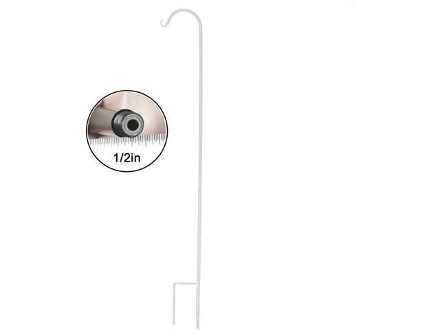 CERBIOR Adjustable Shepherd Hook, Heavy Duty Plant Hanger with Rust Resistant Coating, Metal Hook Hangers for Weddings, Bird Feeders, Solar Lights. (780317829159 Home & Garden Lawn & Garden Gardening Gardening Tools) photo