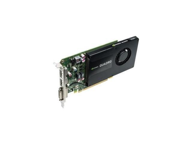 Recertified - PNY Technologies, Inc. VCQK2200-PB NVIDIA Quadro K2200 - Graphics card - Quadro K2200 - 4 GB GDDR5 - PCIe 2.0 x16 - DVI, 2 x DisplayPort (Electronics Computer Components I/O Cards & Adapters) photo