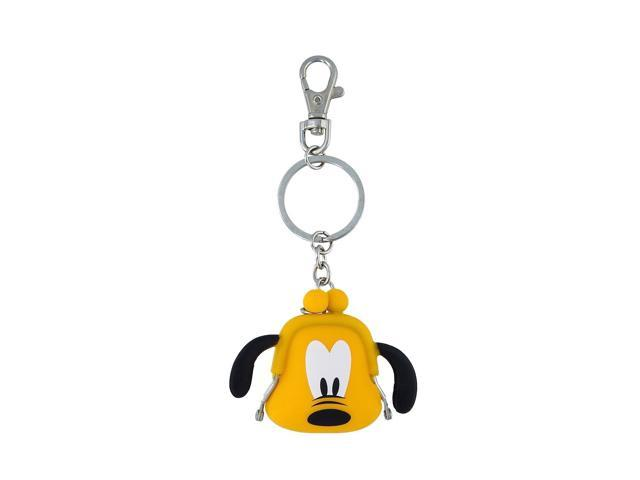 Disney Parks Pluto Coin Purse Silicone Keychain New with Tags (400020443274 Toys & Games) photo