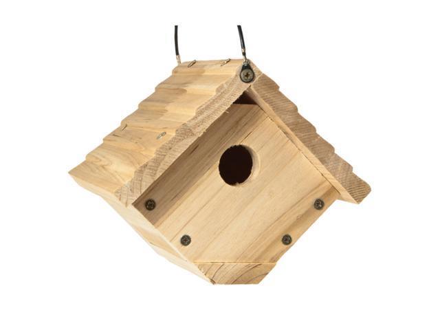 Audubon 6.25 in. H x 6.8 in. W x 7.13 in. L Red Cedar Bird House - Case Of: 1; (047977012629 Home & Garden Lawn & Garden Outdoor Living) photo