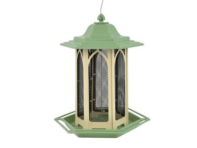 Perky-Pet Wild Bird 3.5 lb. Metal Gazebo Chalet Bird Feeder - Case Of: 1; (078978540385 Home & Garden Lawn & Garden Outdoor Living) photo