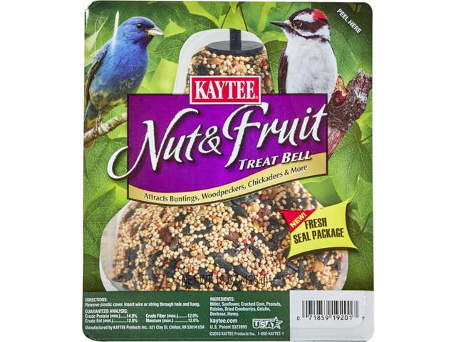 Kaytee Nut & Fruit Songbird Wild Bird Seed Bell Millet 15 oz. - Case Of: 1; (071859192017 Home & Garden Lawn & Garden Outdoor Living) photo
