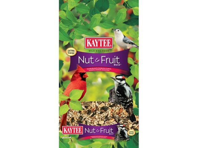 Kaytee Nut & Fruit Songbird Wild Bird Food Nut & Fruit 20 lb. - Case Of: 1; (071859947006 Home & Garden Lawn & Garden Outdoor Living) photo