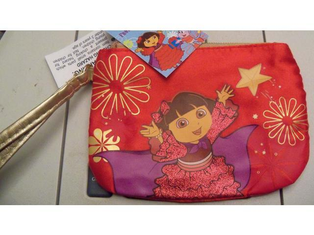 Dora the Explorer Child's Purse/wallet W/zipper New/tags RED (Baby & Toddler) photo
