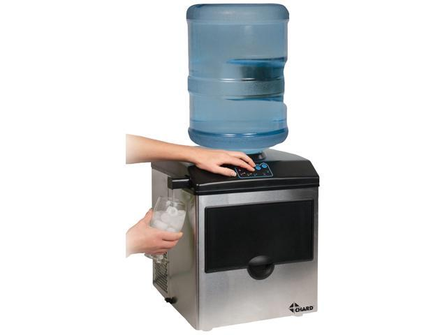 Chard IM-15SS Stainless Steel Ice Maker With Water Dispenser photo
