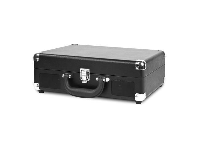INNOVATIVE TECHNOLOGY INN-VSC-550BT-BK BLUETOOTH SUITCASE TURNTABLE IN BLACK (816203013842 Electronics Video Video Accessories) photo