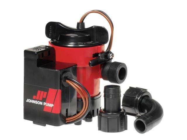 Johnson Pump 750Gph Auto Bilge Pump 3/4' Hose Mag Switch 12V photo