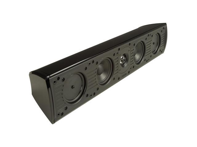Definitive Technology Mythos Seven Table-Top & On-Wall Center Channel Loudspeaker - Each (Black) (093207011993 Electronics Audio Home Theater Systems) photo