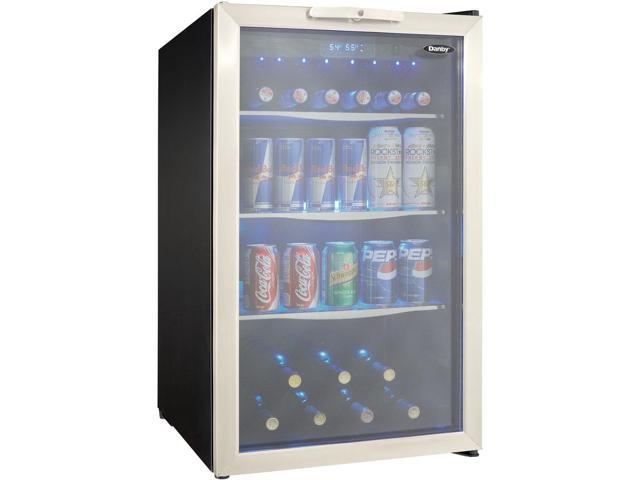 Danby DBC039A1BDB 20' Freestanding Beverage Center with 4.3 cu. ft. Capacity Tempered Glass Door with Stainless photo
