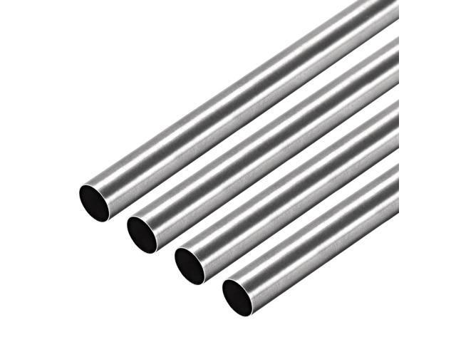 "5//8/"" x 5//8/"" x 0.049/"" x 48/"" long Polished 304 Stainless Steel Square Tube"