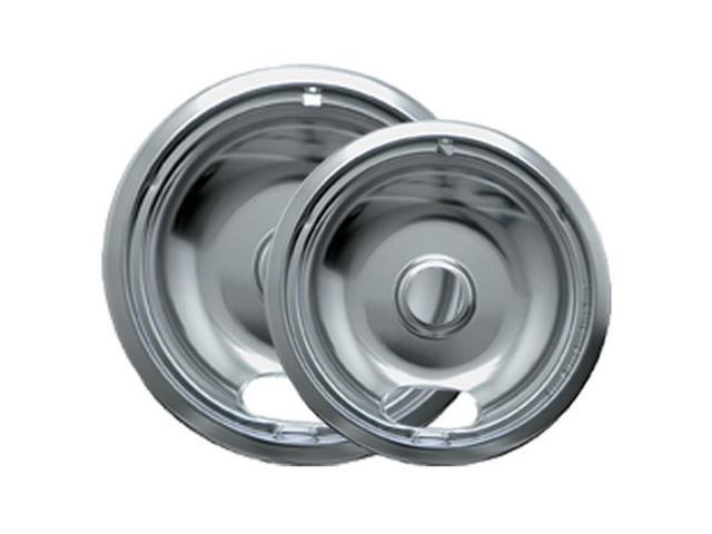 Range Kleen 12782Xcd5 Chrome Drip Pans - Plug-In Ranges; Fits Most Amana, Crosley, Frigidaire, M photo