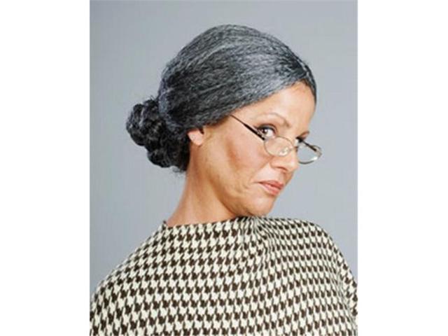 Alicia International 00017 MGRY OLD LADY Wig photo