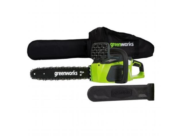 Greenworks GMax 40V 16 Inch Bar DigiPro Cordless Chainsaw (Battery Not Included) (841821011376 Hardware Tools Saws) photo