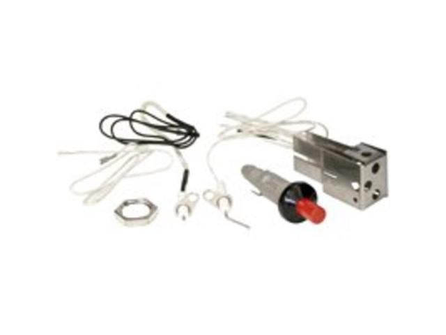 Piezo Universal Ignition Kit Onward Mfg Co Grill Repair Parts 20610 Bright Zinc photo
