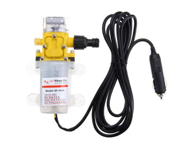 Water Tool Jet Spray Cleaner Sprayer Metal Window DC 12V High Pressure Washer Car Washing Air conditioner Durable photo