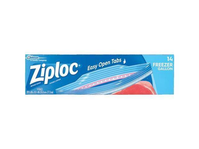 Ziploc 1 Gal. Double Zipper Freezer Bag (14 Count) 00389 photo