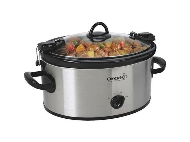 Jarden Consumer Solutions Ss 6Qt Oval Slow Cooker SCCPVL600-S Unit: EACH photo