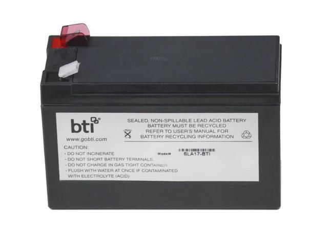BATTERY TECHNOLOGY - SLA RBC17-SLA17-BTI RBC17 REPLACEMENT UPS BATTERY (745473119490 Electronics Power) photo