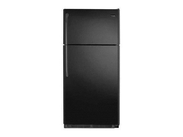 FRIGIDAIRE FFHT1832TE Top Mount Refrigerator, 18 cu ft, Black photo
