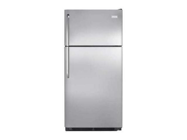 FRIGIDAIRE FFHT1832TS Top Mount Refrigerator, 18 cu. ft, Stainless Steel photo