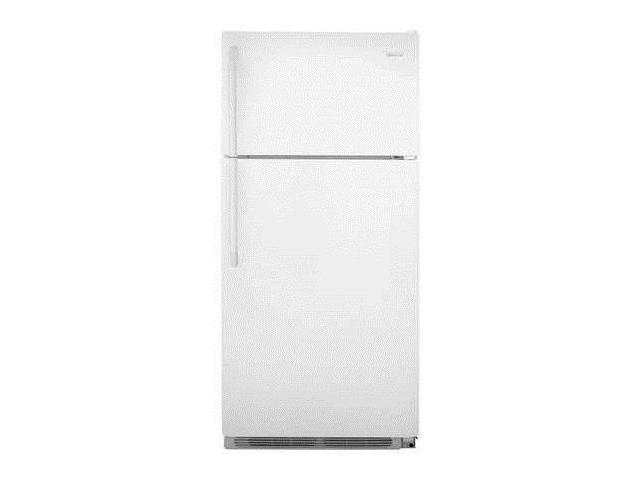 FRIGIDAIRE FFHT1832TP Top Mount Refrigerator, 18 cu ft, White photo