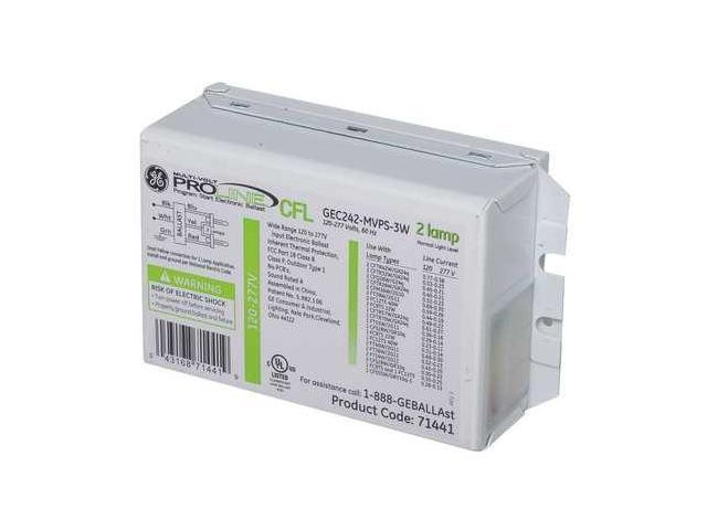 GE CURRENT GEC-242-MVPS-3W CFL Ballast, Electronic,43/44W,120/277V photo