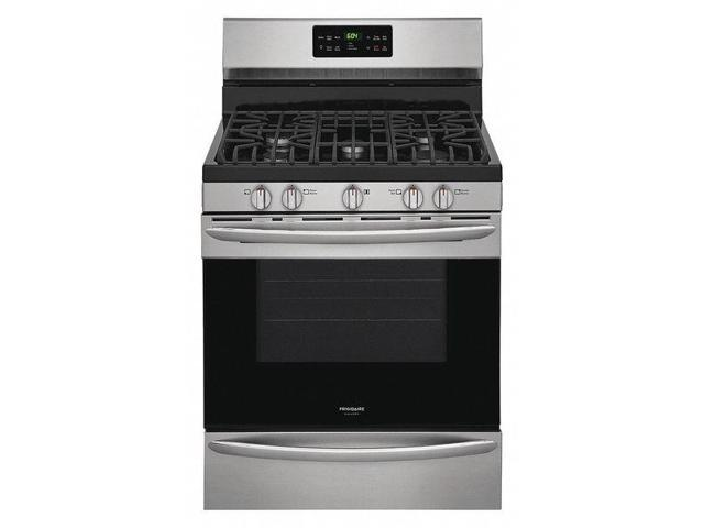 FRIGIDAIRE FGGF3036TF Oven Range, Natural Gas, Stainless Steel photo