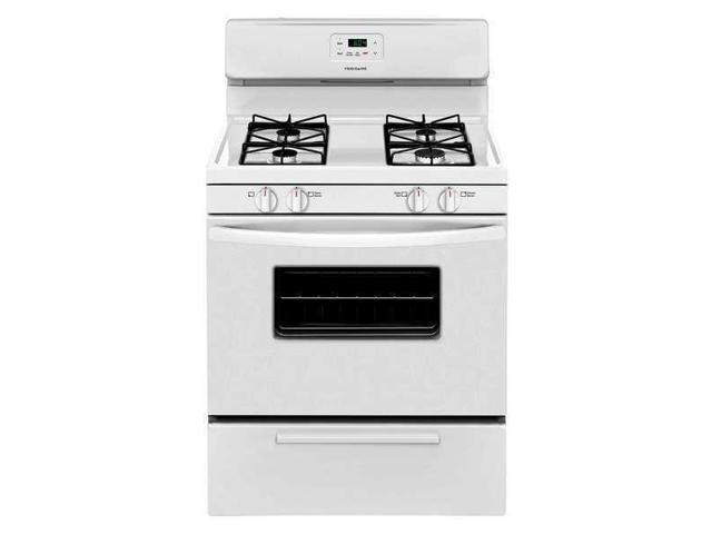 FRIGIDAIRE FFGF3016TW Oven Range, White,29-1/4' Depth,29-7/8' W photo