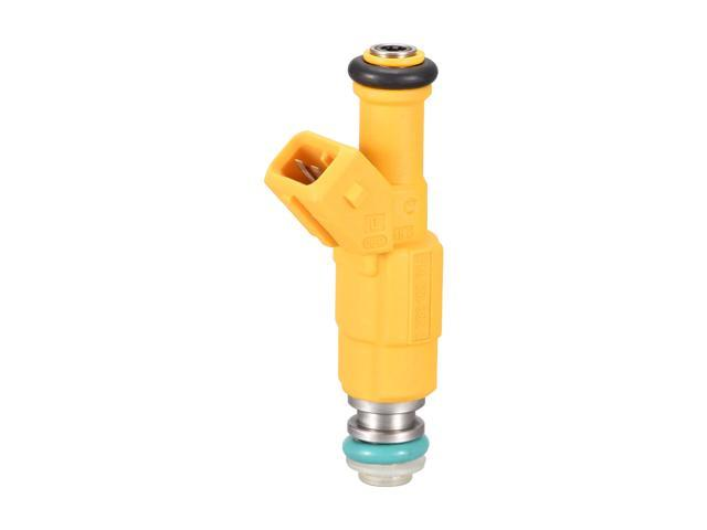 0280155700 2 Pins Automobile Fuel Injector Replacement Metal Plastic for Jeep Grand Cherokee 1993-1998