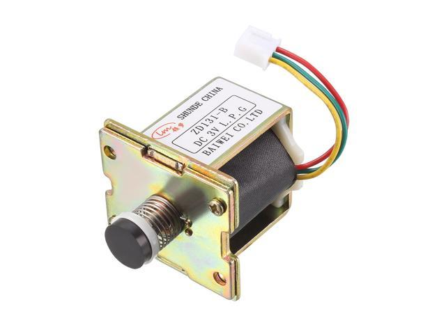 DC 3V Self Absorption Solenoid Valve Right Mounted Hole Durable Self-Priming Valve Water Heater Accessories 2pcs photo