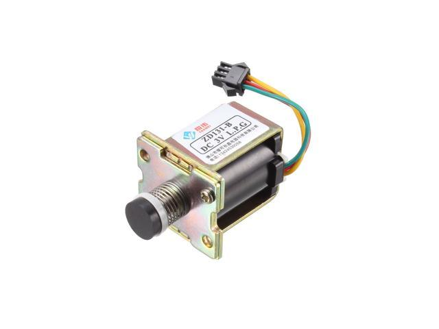 DC 3V 38mm X 36mm Self Absorption Solenoid Valve Right Mounting Hole Durable Self-Priming Valve for Gas Fast Water Heater 2pcs photo