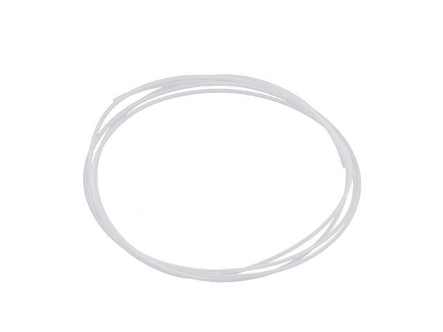 0.6mm x 1mm PTFE High Lubricating Ability Tubing 1 Meters 3.3Ft for Electronics