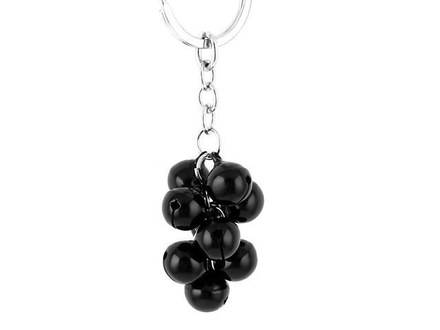 Black Metal Bells Pendant Split Ring Keyring Keychain Key Chain Purse Ornament (712662106524 Toys & Games) photo