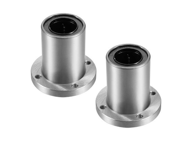 Pack of 2 25mm Bore Dia 59mm Length 40mm OD uxcell LM25UU Linear Ball Bearings