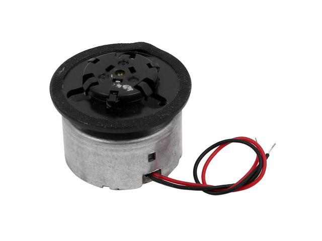 DC5.9V Rotary Speed Electric Mini Motor for DVD Small Home Appliance w Wire photo