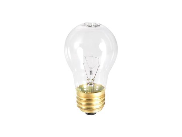 A15 E26 Microwave Replacement Bulbs for Most Ge Ovens Replaces Part Fits E26 Base - 40W/AC 110-120v Yellow Warm Light photo