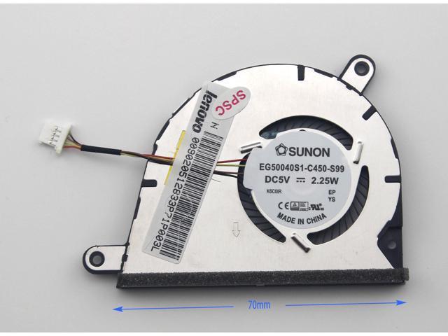 New For Lenovo IdeaPad Yoga 2 13 EG50040S1-C450-S99 DC28000E4S0 CPU Cooling Fan