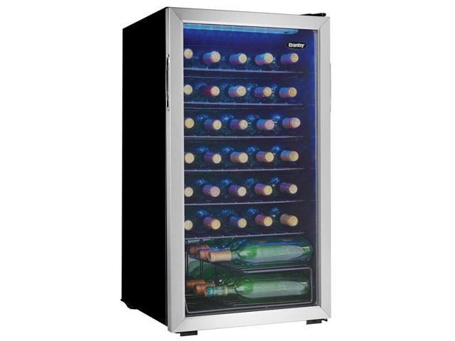 Danby DWC036A1BSSD 36 Bottle Stainless Wine Cooler photo