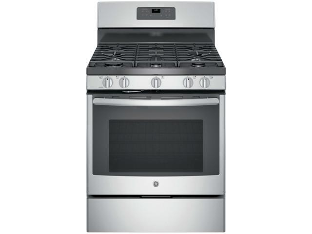 GE JGB660SEJSS 5.0 Cu. Ft. Stainless 5 Burner Gas Range photo